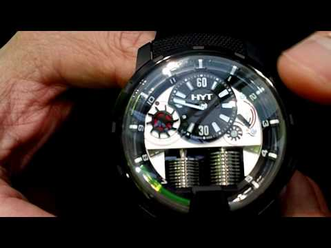 Haute Time Presents: Creator of HYT Watches, Vincent Perriard At Basel World 2012