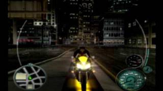Midnight club 3 remix San Diego bike glitch tutorals (no camara on T.V)