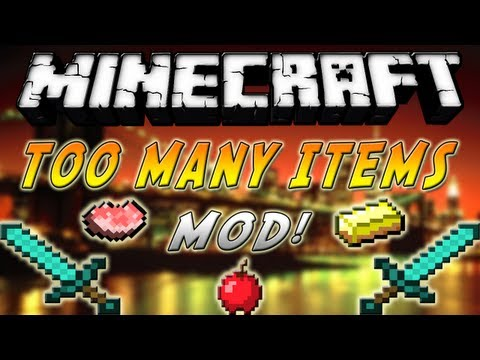 Minecraft 1.7.2 - Como instalar Too Many Items MOD - ESPAÑOL TUTORIAL