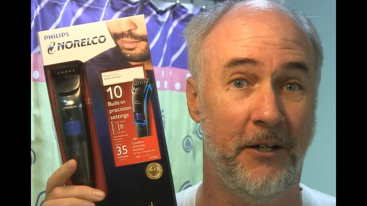 norelco qt4000 beard trimmer reviews philips norelco qt4000 42 beard trimmer review getarazor. Black Bedroom Furniture Sets. Home Design Ideas