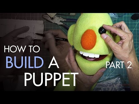 How to Build a Hand and Rod Puppet Part 2 - Fabrication - PREVIEW