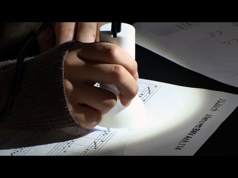 Write and play your own sheet music with the Gocen #DigInfo