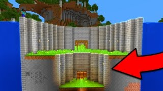 Ultimate Survival Base in Minecraft Pocket Edition (Underwater Base Tour)