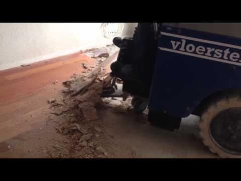 VloerSterk | Verwijderen parketvloer en spaanplaat ondervloer