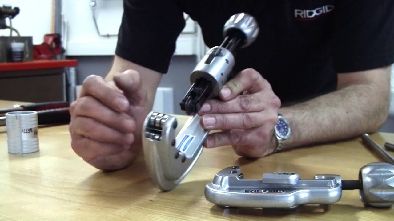 Ridgid How To Cut Stainless Steel Pipe Youtube