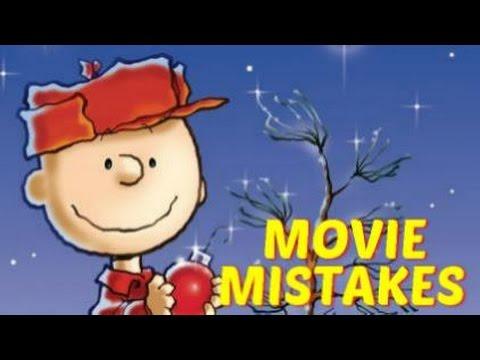 A Charlie Brown Christmas Movie Mistakes