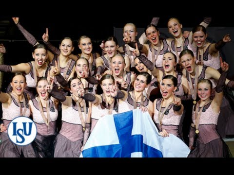 Team Finland 1 great come back to become ISU World Synchronized Skating Champions