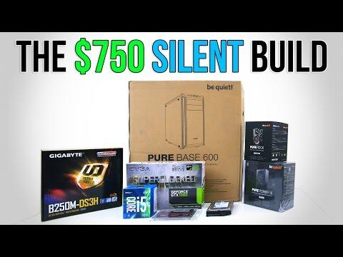 $750 Silent PC Build | Time Lapse