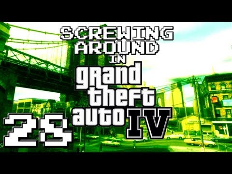 Screwing Around in GTA IV Pt28 w/ Nova, Kootra, Ze and Danz