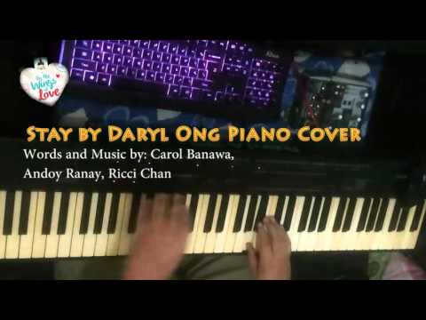Stay by Daryl Ong Piano Cover By Paulo Osorio