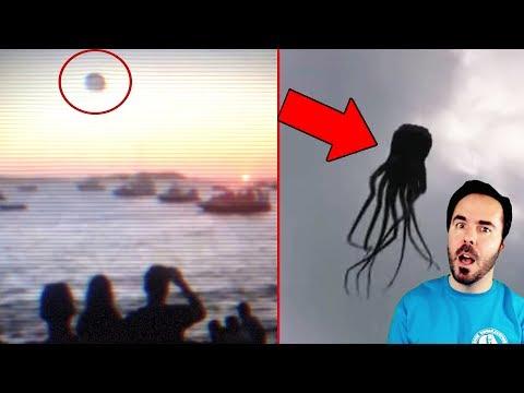 5 UFO Sightings Caught On Camera 2018! NEW UFOs