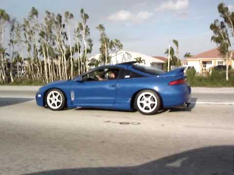 MITSUBISHI ECLIPSE TURBO WITH GT35-R Video