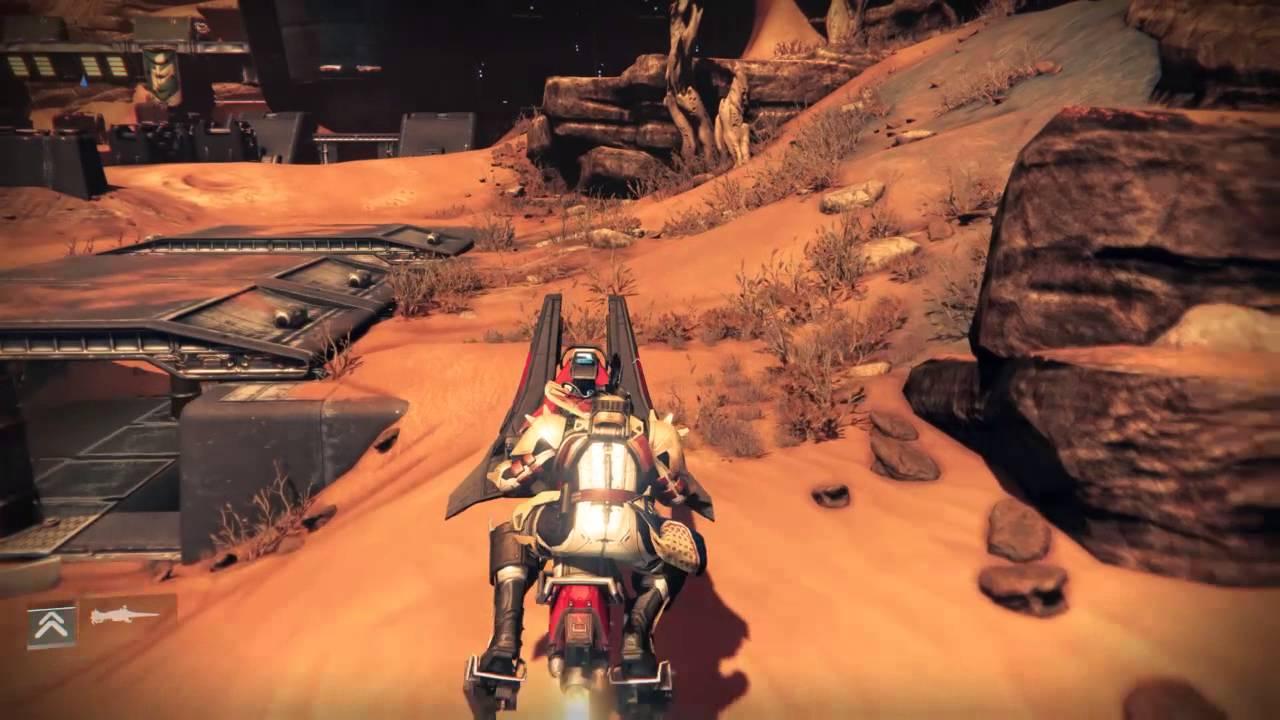 Destiny rubicon wastes sniper spot on mars youtube