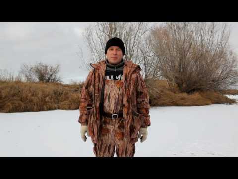 Как Ставить Сети Зимой Под Лед Видео