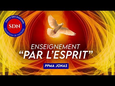 ENSEIGNEMENT : Par l'Esprit - PPMA JONAS