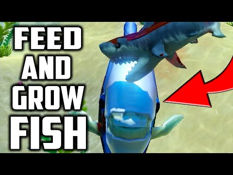 Feed And Grow Fish - EPIC MONGO BOTTOM FEEDER FISH (Funny Moments Gameplay)