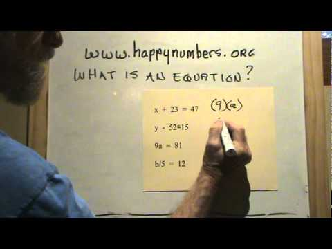 01 What Is an Equation