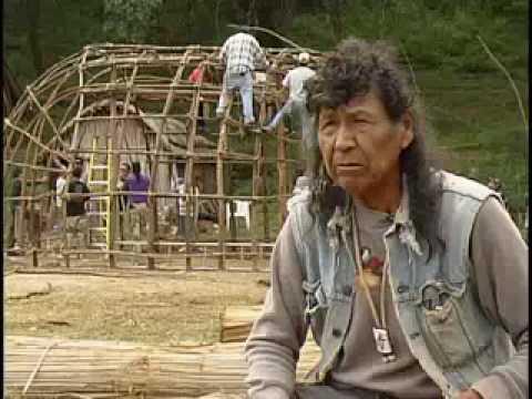 Horizontes Indígenas. Pueblo Kikapú. La casa de invierno. El Nacimiento, Coahuila.