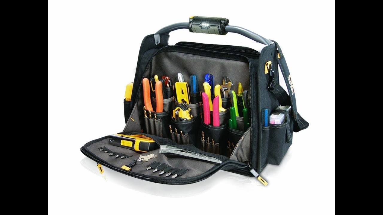 Clc L245 18 Inch Tech Gear Tool Carrier With Led Lighted