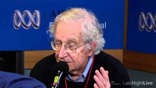 (Pt1) Noam Chomsky interview [HD] - Late Night Live, ABC RN