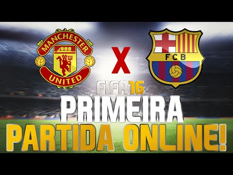 FIFA 16 - Primeira Partida Online - Manchester United x Barcelona [Xone]