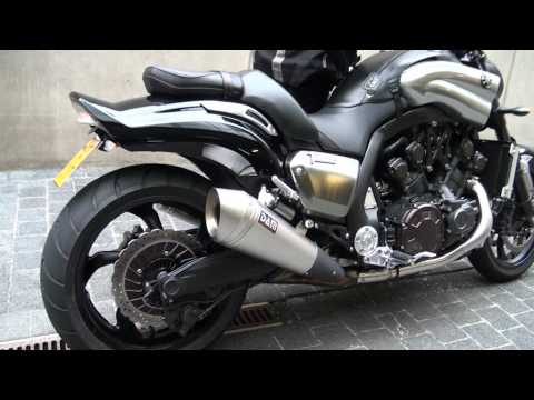 Yamaha Vmax Exhaust Youtube