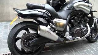 V-max 1700 - DAM SD oval Exhaust