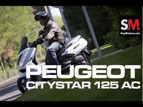 Prueba Peugeot Citystar 125 AC 2014