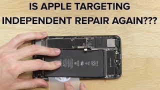 Is Apple Targeting Independent Repair Again
