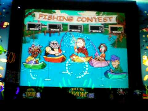 Reel 39 em in slot machine fishing contest for Fish slot machine