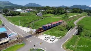2016.7.31南阿蘇鉄道再開(S.Ver) / 白川水源駅