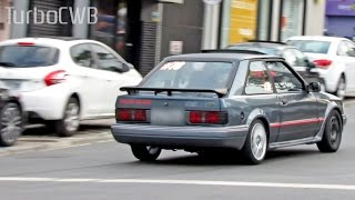 Ford Escort XR3 Turbo Acelerando forte! - Turbo CWB