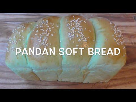 how to make Pandan Soft Bread recipe / resep roti Pandan