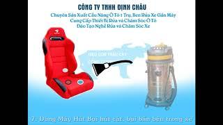 Quy Trình Rửa Xe Ô Tô Chuyên Nghiệp - Định Châu