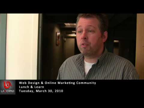 Lunch and Learn Web Design Online Marketing Community: March 30 2010