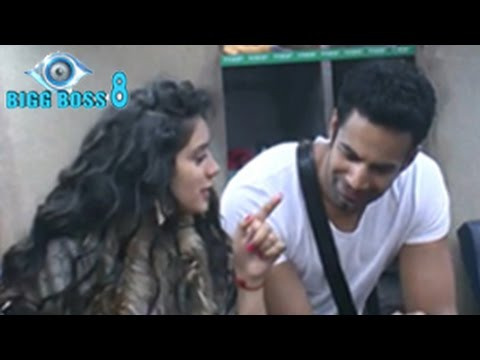 Bigg Boss 8 23rd September 2014 Episode | Upen Patel & Sukirti's FIRST FIGHT
