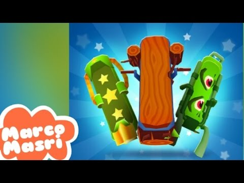 Subway Surfers: All BOARDS in ONE run - Part 4