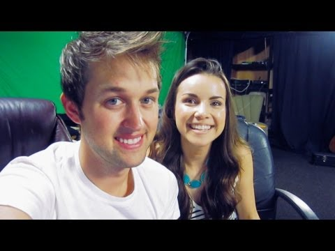 Luke Gets His Nails DID By Missglamorazzi