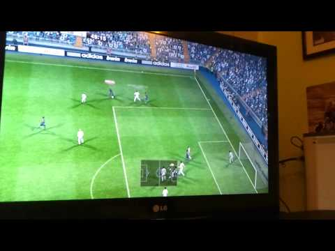 Pes 2012 xbox360 Online - FC Barcelona vs Inter de milan