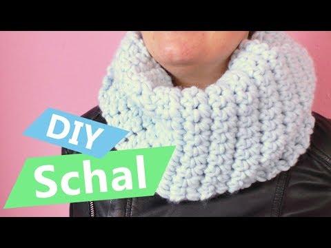 Easy KNOPF*Schal freEBOOK Nähanleitung DIY firstloungeberlin