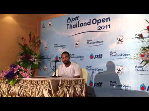 Donald Young Interview PTT Thailand Open 2011
