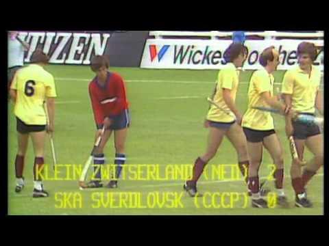 Hockeyclub Klein Zwitserland Europacup 1981 Brussel