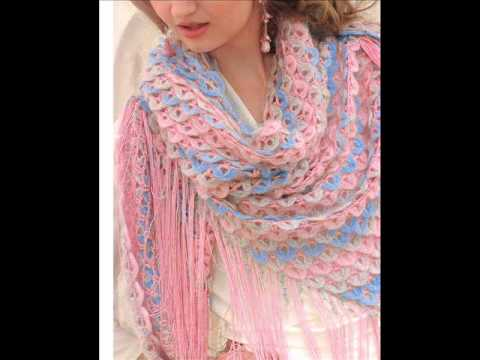 Журнал мод вязание крючком 549 шали 17