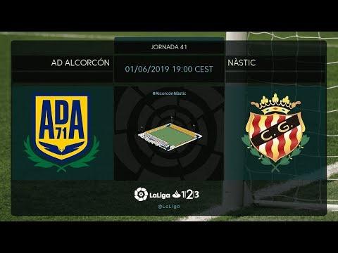 AD Alcorcón - Nástic MD41 S1900