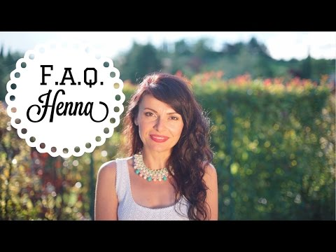 FAQ and facts you should know on HENNA and herbal hair colors|Vademecum Henné ed erbe tintorie