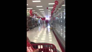 Porn playing over the intercom at target in Campbell California