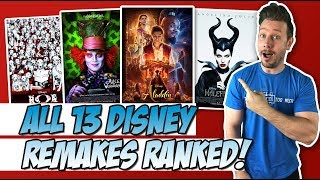 All 13 Disney Live-Action Remakes Ranked!