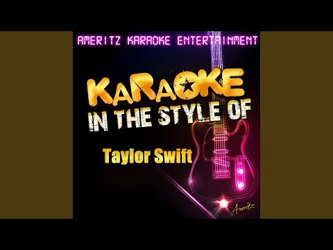 Cold as You (Karaoke Version)