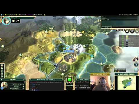 Civilization 5 Multiplayer 149: France [2/6] ( BNW 6 Player Free For All) Gameplay/Commentary