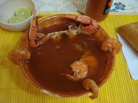 Receta Nutritiva Sopa de Mariscos
